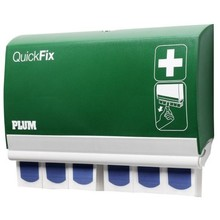 QuickFix Plum pleisterdispenser met 90 HACCP pleisters