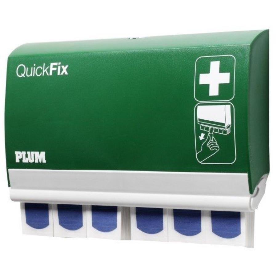 Pleisterdispenser QuickFix Plum met 90 detecteerbare pleisters