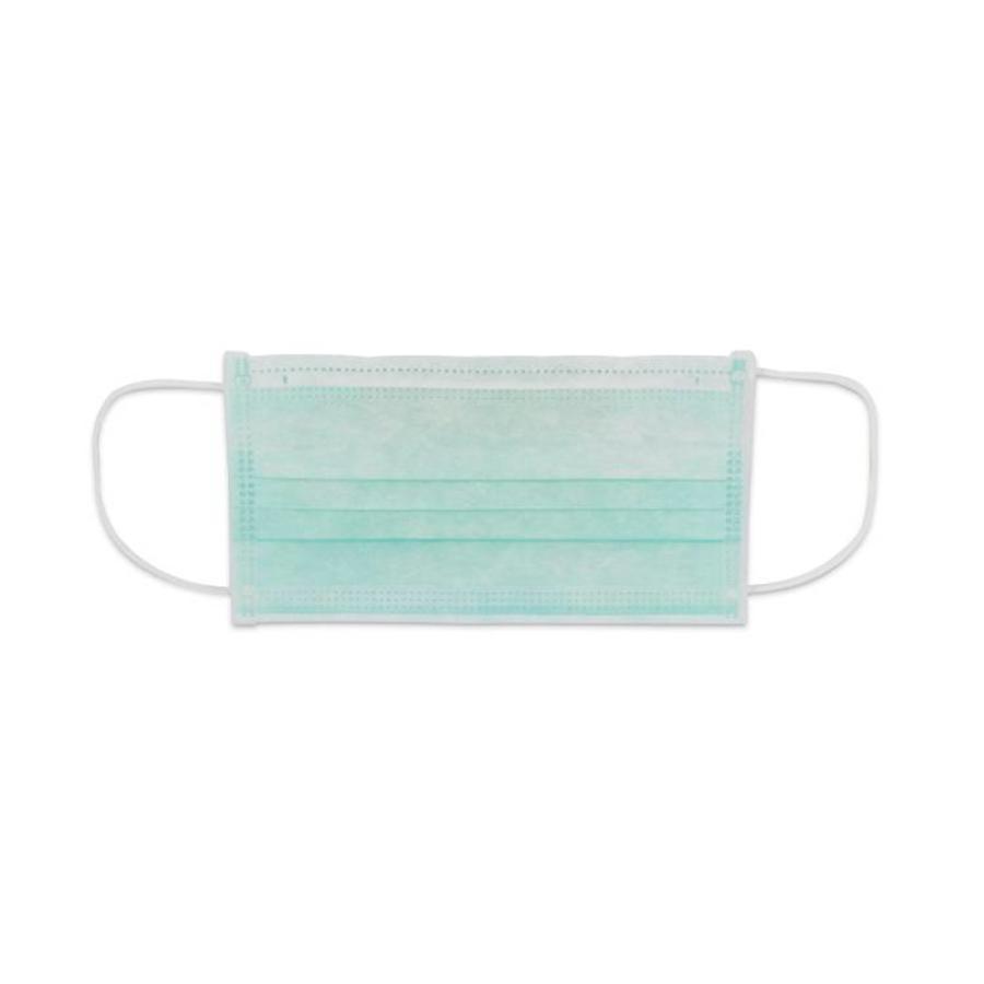 Mondkapjes met oorbandjes kl.2 met neusbeugel - 3 laags latexvrij - 50 stuks