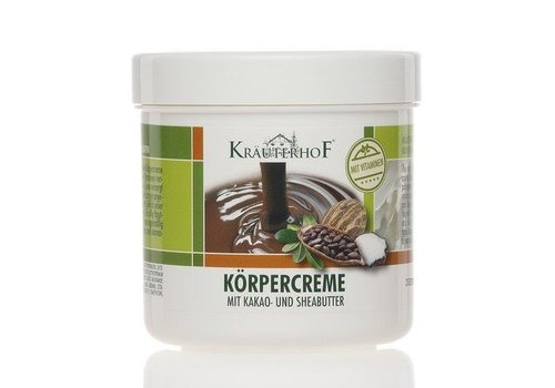 Bodycreme Cacao en Sheabutter 250 ml