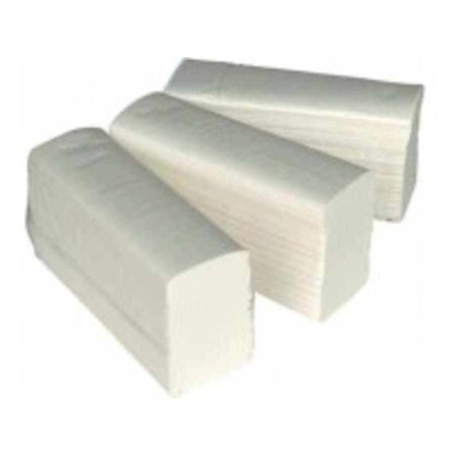 INTERFOLD papieren handdoeken 2 laags 3200st