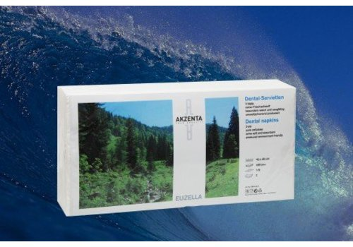 Tissue servetten Top Soft WIT sterk 4-laags 40 x 40 cm