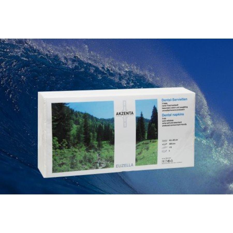 Tissue servetten WIT 4-laags 40 x 40 cm
