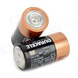Duracell Type C batterijen voor luchtverfrisser systeem
