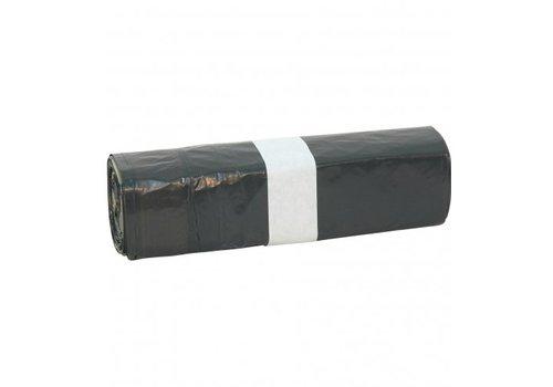 Afvalzakken LDPE klein 6 ltr met trekband per rol a 20 zakken