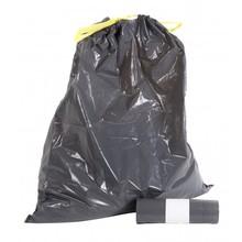 Europroducts Afvalzakken LDPE groot 60 ltr met trekband per rol a 10 zakken