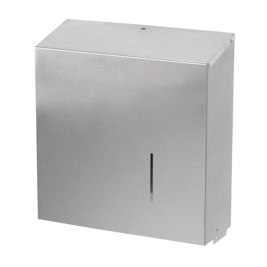 Jumbo toiletrol dispenser MAXI RVS