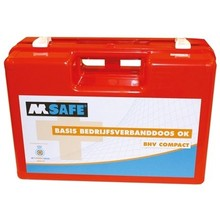 M-Safe EHBO bedrijfsverbanddoos OK BHV HACCP Oranje Kruis VB24-29
