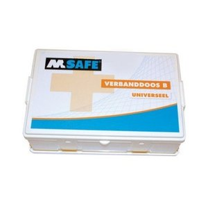 M-Safe EHBO verbanddoos B Universeel voor kleine bedrijven