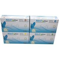 Medi-Inn Soft Nitril blauwe medische handschoenen 100 st
