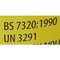 Naaldencontainer 3 liter UN 3291 per 1 stuk