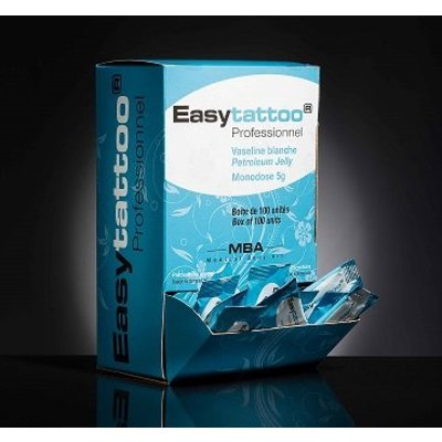 EasyTattoo Witte Petrolatum Jelly Vaseline 100x 5gr sachets