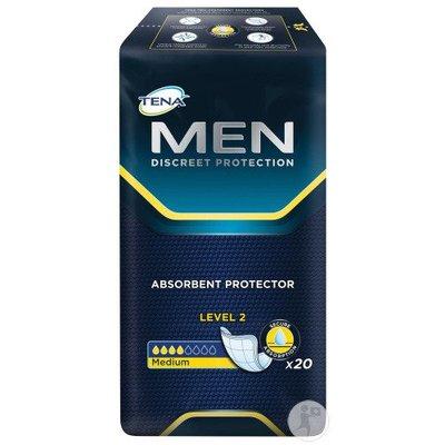 Tena Tena for Men Level 2 Medium - 20 incontinentie inleggers