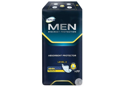 for Men Level 2 Medium - 20 incontinentie inleggers
