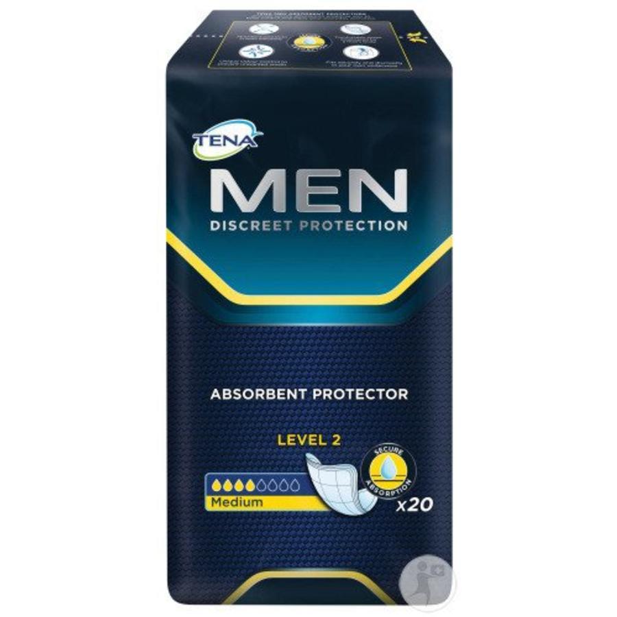 for Men Level 2 Medium - 20 incontinentie inleggers