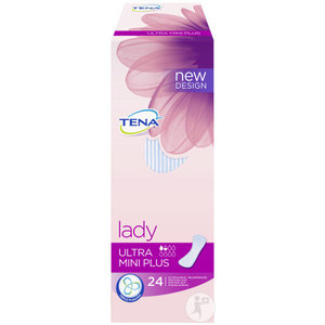 Tena Lady Ultra Mini Plus 24 inlegkruisjes