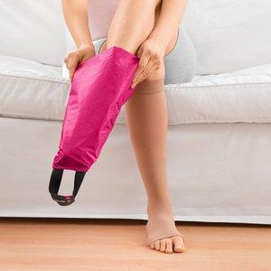 Medi aantrekhulp voor elastische kousen - open teen