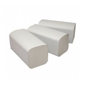 MedicaMarkt Z vouw Euro tissue wit papieren handdoekjes 2 laags 3180st