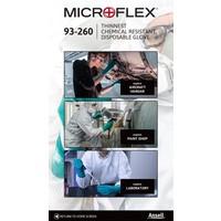 MicroFlex 93-260 3-laags chemisch bestendig per 50st.
