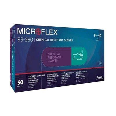 Ansell MicroFlex 93-260 3-laags chemisch bestendig per 50st.