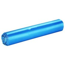 Merk X blauwe LDPE vuilniszakken 70x110cm T70 - 20 zakken