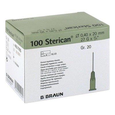 Braun Sterican injectie naalden Luer doosje a 100st