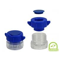 Medi-Inn tablettenvermaler / pillen vergruizer blauw per 1 stuk
