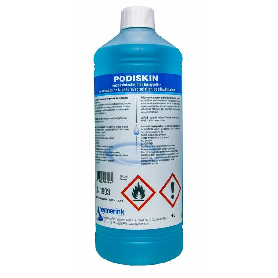 Podiskin huiddesinfectie 1 liter