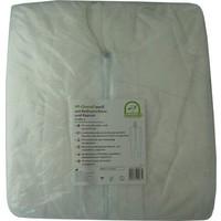 Medi-Inn Plastic overall PP wit capuchon en ritssluiting p.s.