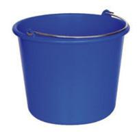 MedicaMarkt Emmer rond 12 liter blauw of rood p.s.