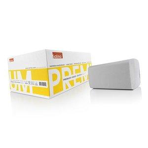 Satino papieren vouwhanddoek z-vouw 25 x 23 cm 2 laags per doos