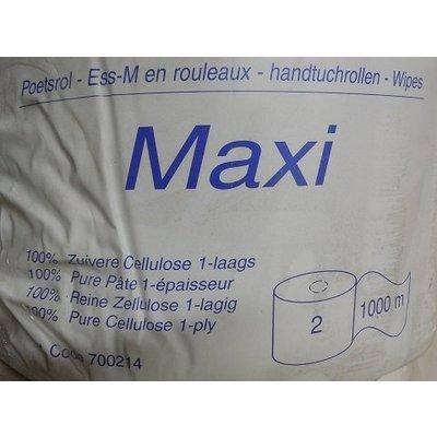 Satino maxi poetsrollen 1 laags 1000 mtr