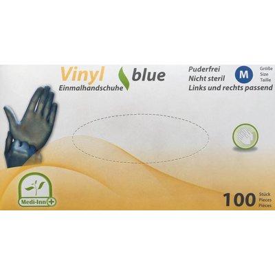 Medi-Inn Blauwe vinyl handschoenen SuperFit