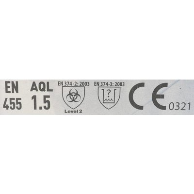 Medi-Inn Semi Long witte nitril handschoenen Clinic Perfect 150