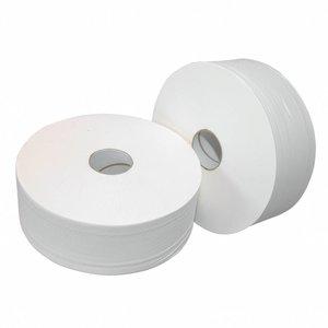 Europroducts 6x rol toiletpapier Jumbo ONgeperforeerd MAXI 380 meter