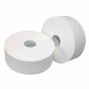 Europroducts Toiletpapier Jumbo 6x ONgeperforeerd rol Maxi 380 meter - Copy