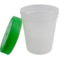 Medi-Inn Urinebekers met schroefdeksel Groen 125 ml - 10st