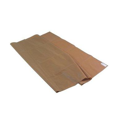 bruine glijlakens solide kwaliteit 150 x 100 cm