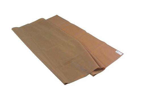 glijlaken bruin solide kwaliteit 150 x 100 cm