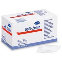 Soft Zellin alcoholdeppers - gevouwen tot 30x30mm per 100st