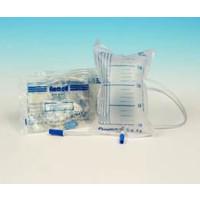 Romed 10x urinezakken 2 liter met ventiel steriel 90cm slang