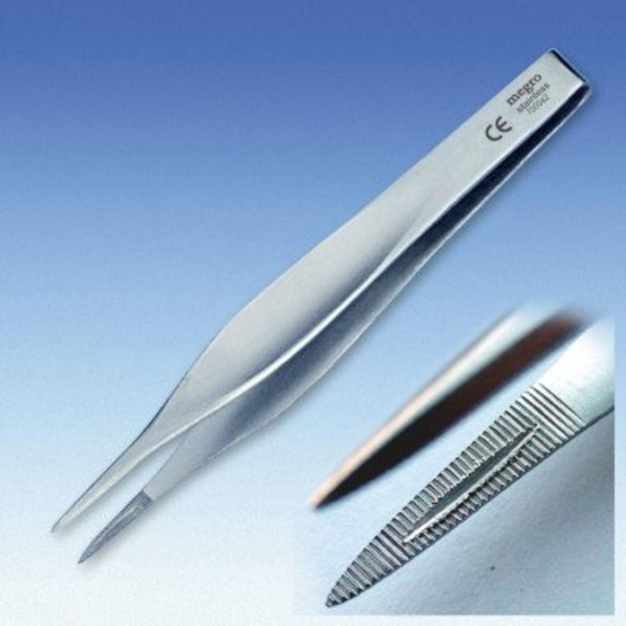 Splinter pincet 11,5 cm p.s.