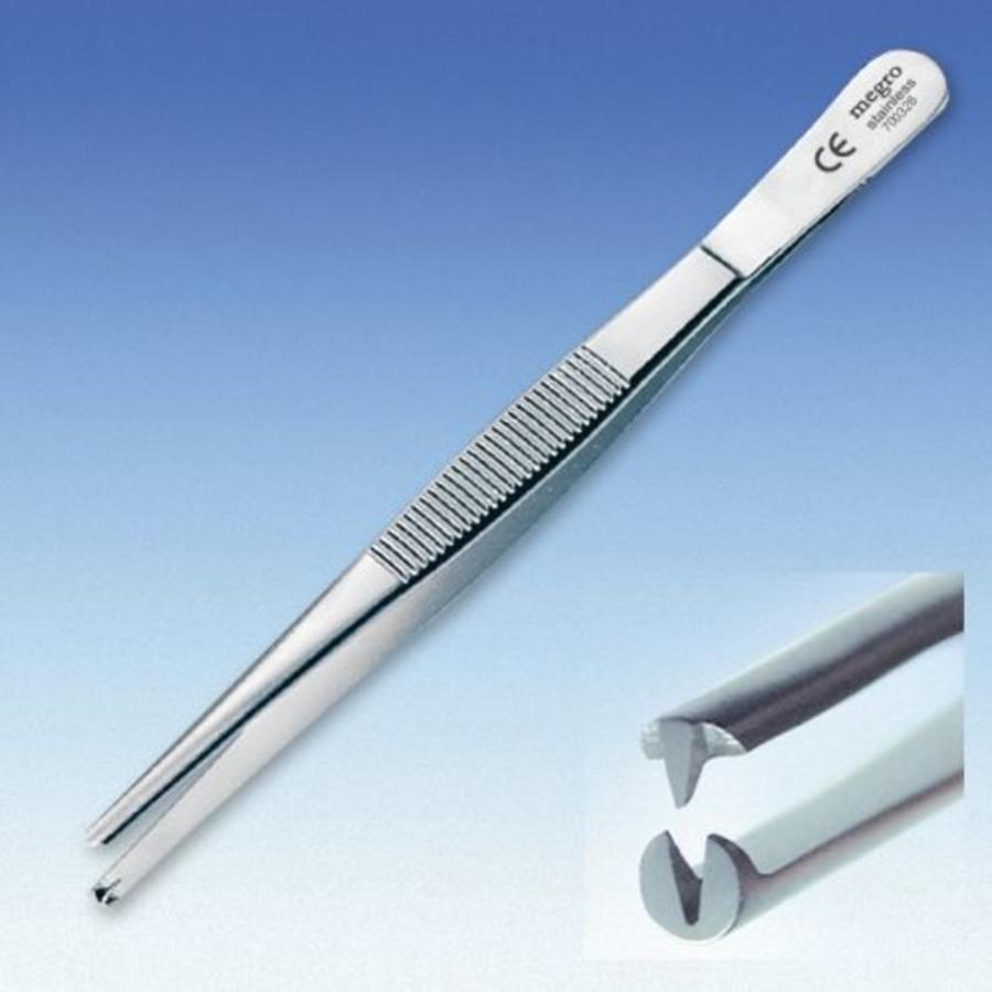 Chirurgisch pincet 14,5 cm vertanding 1:2 p.s.