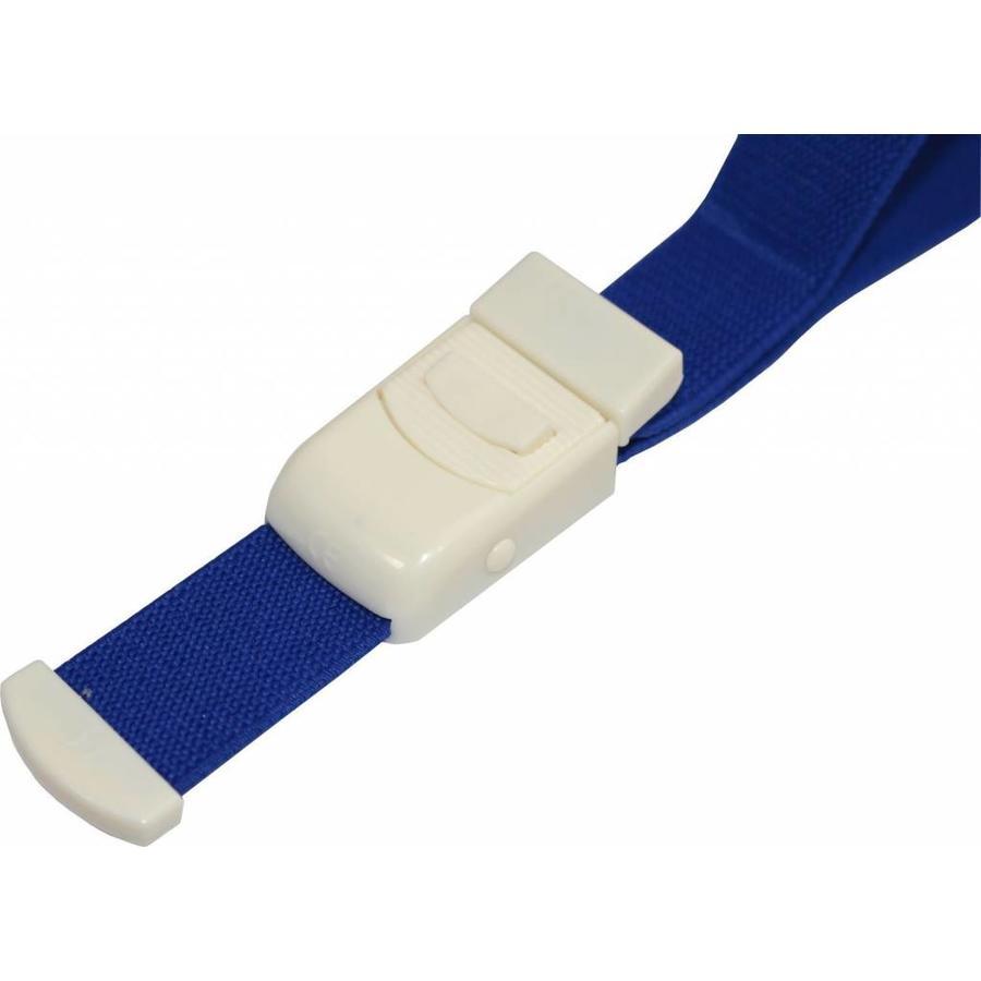Stuwband blauw ps
