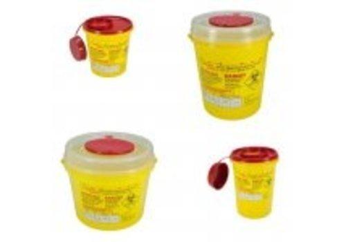 Naaldencontainer 2 liter UN 3291 per 1 stuk