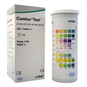 Roche Combur 7 urine teststrips 100 strips