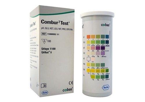 Combur 7 urine teststrips 100 strips
