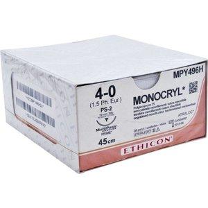 Ethicon Monocryl 4-0 MPY496H PS-2 Prime MP p. pakje a 36st