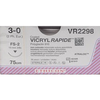 Ethicon Vicryl Rapide VR2298 3-0 75cm hechtdraad p. pakje a 36st