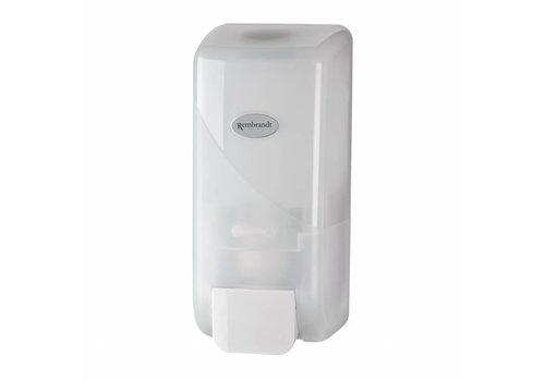 witte zeepdispenser 1000 ml